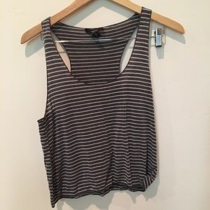 Forever 21 lightweight striped tank top